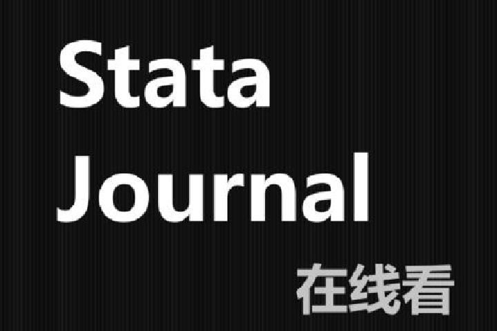 Stata Journal:2020年第4期论文(SJ 20-4)