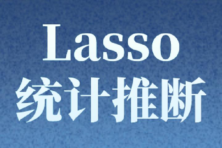 Lasso:拉索中如何做统计推断